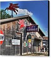 City Garage Canvas Print by Joe Finney