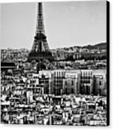 Cityscape Of Paris Canvas Print by Sbk_20d Pictures