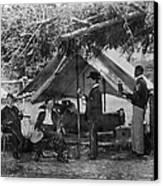 Civil War: Union Camp Canvas Print