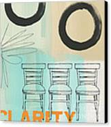 Clarity Canvas Print by Linda Woods