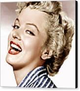 Clash By Night, Marilyn Monroe, 1952 Canvas Print