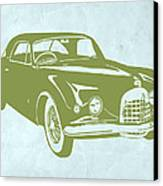 Classic Car Canvas Print by Naxart Studio