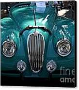 Classic Green Jaguar . 40d9411 Canvas Print by Wingsdomain Art and Photography