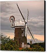 Cley Windmill Canvas Print by Chris Thaxter