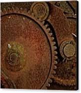 Clockwork Rust Canvas Print by Odd Jeppesen