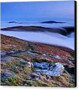 Cloud Waterfalls Bannerdale Crags Canvas Print by Stewart Smith