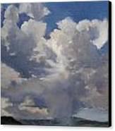 Cloudscape Canvas Print by Victoria  Broyles