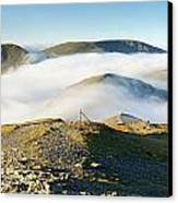 Cloudsurfing Grisedale Pike Canvas Print