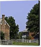 Clover Hill Tavern And Kitchen Appomattox Virginia Canvas Print