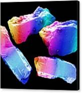 Cocaine Crystals, Sem Canvas Print by David Mccarthy