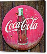 Coco Cola Sign Canvas Print by Garry Gay