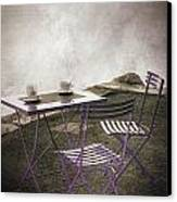 Coffee Table Canvas Print by Joana Kruse