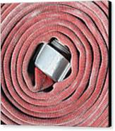 Coiled Fire Hose Canvas Print
