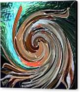 Color In Motion Canvas Print by Virginia Bond