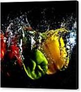 Color Splash Canvas Print by Michael Murphy