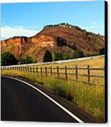 Colorado Curve Canvas Print by Ric Soulen
