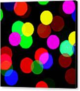 Colorful Bokeh Canvas Print