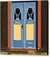 Colorful Entrance Canvas Print