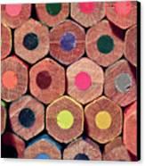 Colorful Painting Pencils Canvas Print