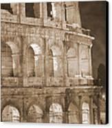 Colosseum Canvas Print by Stefano Senise