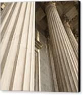 Columns Of The Supreme Court Canvas Print