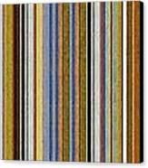 Comfortable Stripes Vlll Canvas Print by Michelle Calkins