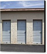 Commercial Storage Facility Canvas Print