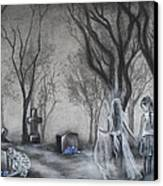 Communion Canvas Print by Carla Carson