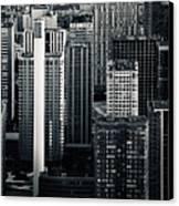 Compressed Architecture Canvas Print