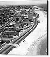 Coney Island, New York, New York. March Canvas Print by Everett