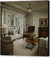 Contemporary Sitting Room Canvas Print
