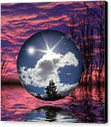 Contrasting Skies Canvas Print