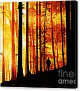 Conversing With Ancients  Canvas Print