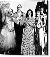 Costume Party At San Simeon. Irene Canvas Print