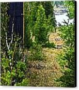 Cottage 999 Canvas Print by Cyryn Fyrcyd