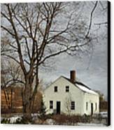 Cottage By The Mill Canvas Print
