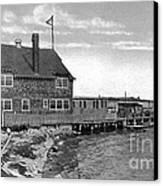 Cottage Park Yacht Club 1902 Canvas Print by Extrospection Art