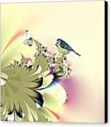 Country Garden Canvas Print by Sharon Lisa Clarke