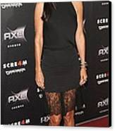 Courteney Cox Wearing The Row Canvas Print by Everett