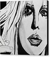 Courtney Love Canvas Print