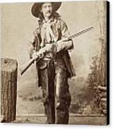 Cowboy, 1880s Canvas Print by Granger