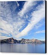 Crater Lake Sky Canvas Print by Pierre Leclerc Photography