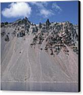 Crater Lake Volcanic Wall, Usa Canvas Print by Dr Juerg Alean