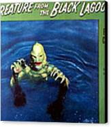 Creature From The Black Lagoon, 1954 Canvas Print by Everett