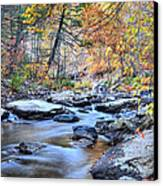 Crisp Autumn Air Canvas Print by JC Findley