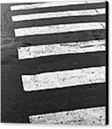 Cross Walk Canvas Print