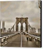 Crossing Over Canvas Print by Joann Vitali
