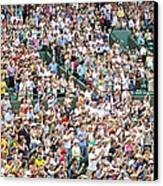 Crowd Of People Canvas Print by Carlos Dominguez