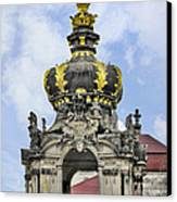 Crown Gate - Kronentor Zwinger Palace Dresden Canvas Print by Christine Till