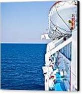 Cruise Ship Canvas Print